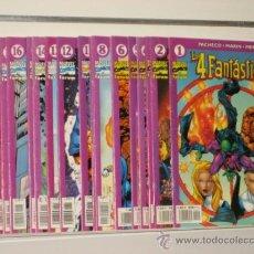 Cómics: LOS 4 FANTASTICOS VOL. 4 LOTE Nº 1 AL 19 FORUM OCASION (DISPONIB. NUM. SUELTOS). Lote 32547876