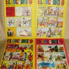 Cómics: EL COCODRILO 1 2 3 4 COMPLETA - COMO NUEVOS. Lote 32646747