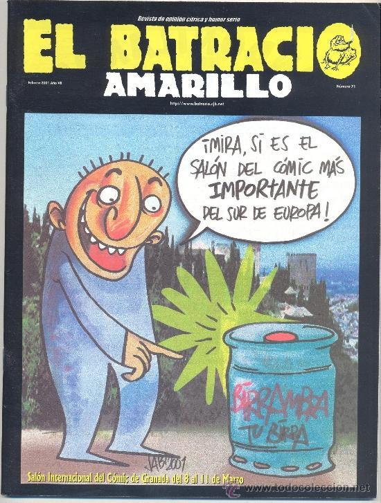 BATRACIO AMARILLO, EL Nº 71 (Tebeos y Comics - Comics otras Editoriales Actuales)