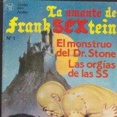 Cómics: LA AMANTE DE FRANKSEXTEIN Nº 1.. Lote 32749477