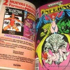 Cómics: INFERNO - PATRULLA X - COMPLETA - 20 NÚMEROS - ENCUADERNADA - MBE - FORUM. Lote 32840324