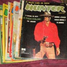 Cómics: COLECCION CASI COMPLETA COMICS HUNTER (FALTA EL NUMERO 3). Lote 32923180