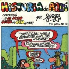 Cómics: FORGES - HISTORIA DE AQUÍ, Nº 33 - EDITORIAL BRUGUERA 1981. Lote 32926620