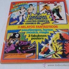 Cómics: BOMBA Nº 1 (TRES RELATOS) 3 POSTERS DE LA BATALLA DE LOS PLANETAS 'COMANDO G'. Lote 51241449