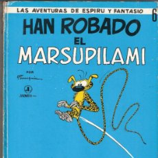 Cómics: HAN ROBADO EL MARSUPILAMI.LAS AVENTURAS DE ESPIRU Y FANTASIO.Nº 6.JAIMES LIBROS.1ª EDICIÓN.1968.. Lote 33117895