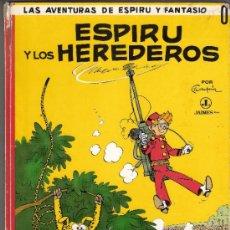Cómics: ESPIRU Y LOS HEREDEROS.LAS AVENTURAS DE ESPIRU Y FANTASIO.Nº 0.JAIMES LIBROS.1ª EDICIÓN.1968.. Lote 33117941