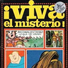 Cómics: ¡VIVA EL MISTERIO! - EDITORIAL ESCO - TAPA DURA. Lote 33142180