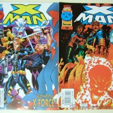 Cómics: LOTE 45 CÓMICS X MAN - MARVEL COMICS - X MEN FORUM CÓMIC. Lote 33276396