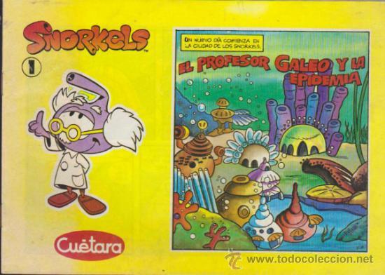SNORKELS Nº 1. DE CUETARA. (Tebeos y Comics - Comics otras Editoriales Actuales)