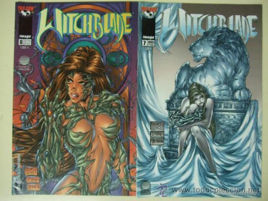 Cómics: LOTE CÓMICS WITCHBLADE 1 AL 25 - WORLD COMICS IMAGE + EL CASO PERONI + NIVEL 42 - PLANETA DEAGOSTINI - Foto 4 - 33565431