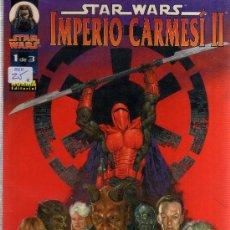 Star Wars - Imperio Carmesí 2 (Colección Completa 3 ejemplares)