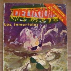 Cómics: DELIRIUM: LOS INMORTALES, EDICION EUROPEA (VÉR FOTOS). Lote 33669771