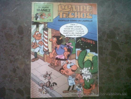 ROMPETECHOS. EL MEJOR IBAÑEZ, Nº 6, EDICIONES PRIMERA PLANA SA. 1999 (Tebeos y Comics Pendientes de Clasificar)