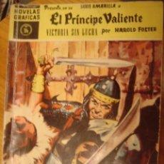 Cómics: EL PRINCIPE VALIENTE VICTORI SIN LUCHA SERIE AMARILLA Nº36. Lote 34091616