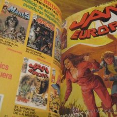Cómics: JAN EUROPA - 10 NÚMEROS - COMPLETA - BRUGUERA - ENCUADERNADA - MBE. Lote 34566601