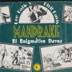 Cómics: MANDRAKE TOMOS 6 . J. ESTEVE.. Lote 34641224