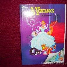 Cómics: LLIBRE-COMIC DISNEY EDICIÓ BILINGÜE CATALÀ- ANGLÈS: LA VENTAFOCS (CINDERELLA). Lote 105845718
