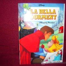 Cómics: LLIBRE-COMIC DISNEY EDICIÓ BILINGÜE CATALÀ- ANGLÈS: LA BELLA DORMENT(SLEEPING BEAUTY). Lote 105845274