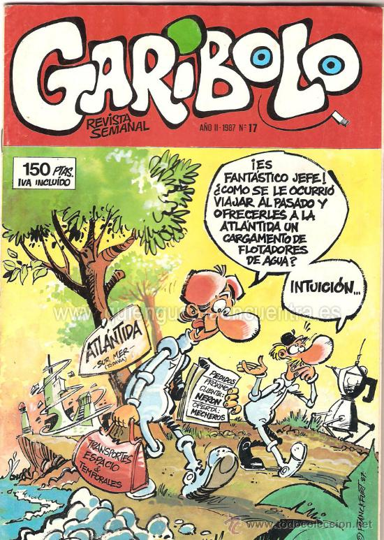Cómics: lote 6 comic Garibolo nº 5-6-7-8-17-festival nº 2 1987 nuevos. - Foto 4 - 26288893