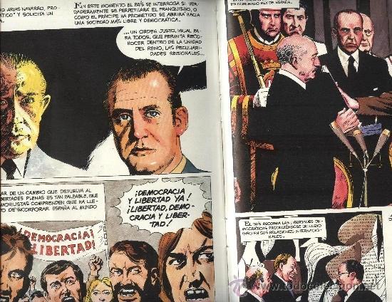 Cómics: Historia de España - 14 Tomos - Colección Completa, Encuadernación de Lujo - Ed. Genil 1986 - Foto 3 - 110436427