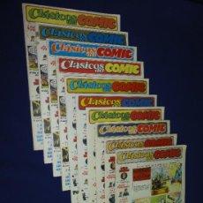 Cómics: LOTE 10 NUMEROS DE CLÁSICOS DEL COMIC. Lote 34772217