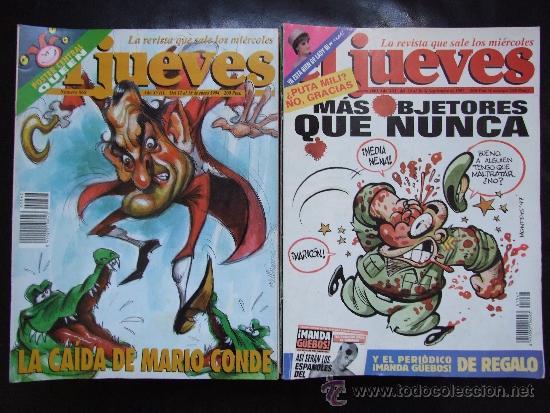 LOTE DE 32 EJEMPLARES DEL JUEVES (Tebeos y Comics - Comics otras Editoriales Actuales)