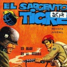 Cómics: EL SARGENTO TIGRE Nº75 (VILMAR, 1972). Lote 35072438