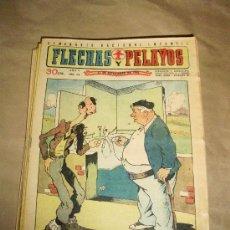 Cómics: FLECHAS Y PELAYOS NºS DEL 161 AL 199 – LOTE 39 EJEMPLARES – MUY BUEN ESTADO. Lote 35081489
