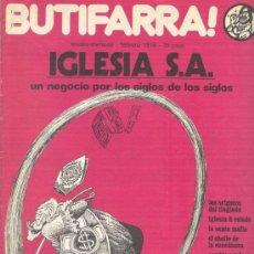 Cómics: BUTIFARRA - IGLESIA S.A. - INICIATIVAS EDITORIALES - FEBRERO DE 1978 - Nº 4 SEGUNDA ÉPOCA. Lote 35467586