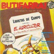 Cómics: BUTIFARRA - EL AGRICULTOR. - INICIATIVAS EDITORIALES - MAYO DE 1978 - Nº 6 SEGUNDA ÉPOCA. Lote 35468039