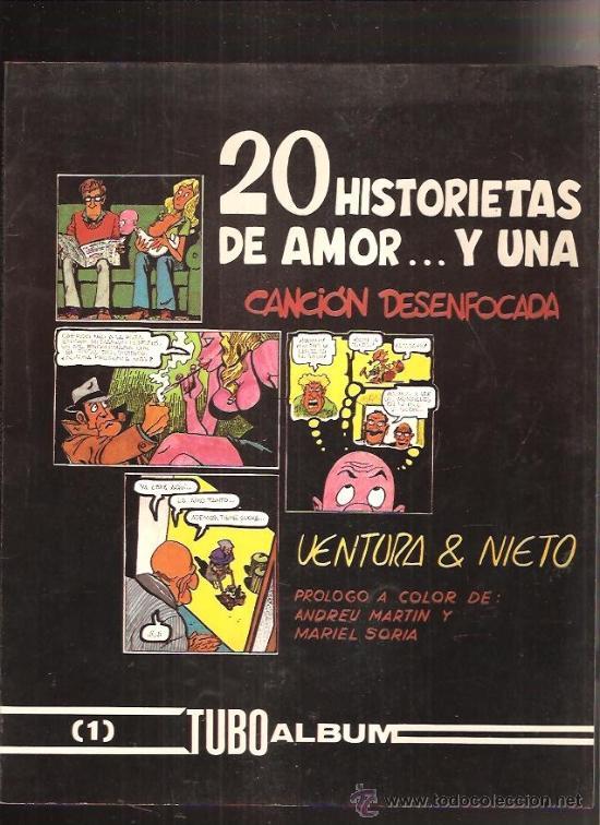 20 HISTORIETAS DE AMOR (Tebeos y Comics Pendientes de Clasificar)
