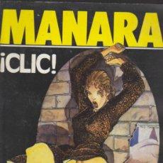 Cómics: TOTEM. CLIC. MANARA.. Lote 35636008