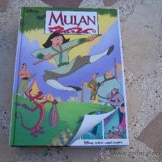 Cómics: LLIBRE-COMIC DISNEY EDICIÓ BILINGÜE CATALÀ- ANGLÈS: MULAN. Lote 105846760