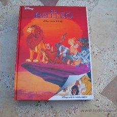 Cómics: LLIBRE-COMIC DISNEY EDICIÓ BILINGÜE CATALÀ- ANGLÈS: EL REI LLEO ( THE LION KING). Lote 105846396