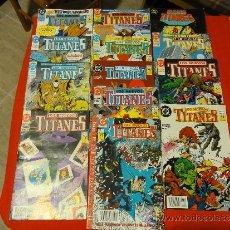 Cómics: LOTE 13 COMICS NUEVOS TITANES Nº 20-22-25-26-27-29-30-32-35-37-38-39-40. EDICIONES ZINCO 1989. Lote 35708804