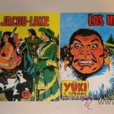 Cómics: IÑI COMIC TEBEO. YUKI EL TEMERARIO. EN LA RESERVA DE JACOB-LAKE. LOS INVASORES. LOTE ÉPSILON.. Lote 199229725