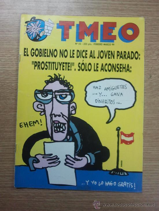 TMEO #52 (Tebeos y Comics - Comics otras Editoriales Actuales)