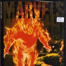 Cómics: MARVELS (COLECCIÓN COMPLETA 4 EJEMPLARES, FORUM). Lote 35815427