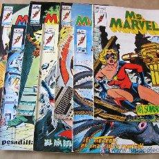 Cómics: MS. MARVEL - ED. VERTICE AÑO 1978 – COMPLETA 9 EJEMPLARES - TAMBIÉN SUELTOS. Lote 35924682