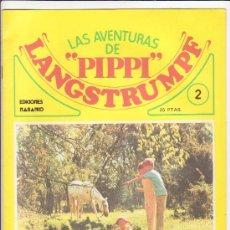 Cómics: LAS AVENTURAS DE PIPPI LANGSTRUMPF Nº 2 EDITA NARANCO. Lote 35968068