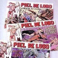 Cómics: PIEL DE LOBO COLECCIÓN COMPLETA 90 NÚMEROS REEDICIÓN. Lote 35991210