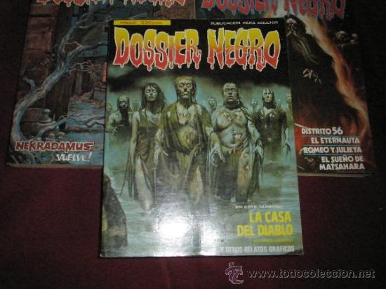 Cómics: 3 COMICS EXTRAS DE DOSSIER NEGRO Nº 1-4-5.-AÑOS 1970. - Foto 7 - 35725905