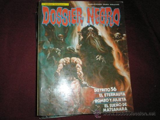 Cómics: 3 COMICS EXTRAS DE DOSSIER NEGRO Nº 1-4-5.-AÑOS 1970. - Foto 9 - 35725905