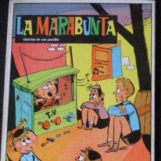 Cómics: LA MARABUNTA HISTORIA DE UNA PANDILLA RARO TAPA DURA. Lote 36077163