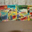 Cómics: 2733- 4 LIBROS INFANTILES SERIE PINTA RETALLA I JUGA. S/F. 4 NUMEROS.. Lote 36251961