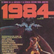 Cómics: 1984. LOTE DE 41 EJEMPLARES (HAY SUELTOS Y ENCUADERNADOS). Lote 228123613