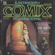 Cómics: COMIX INTERNACIONAL. LOTE DE 36 EJEMPLARES ENTRE EL 1 Y 42.. Lote 36308929