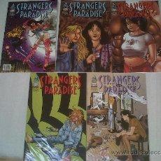 Cómics: STRANGERS IN PARADISE VOL.2 LOVE ME TENDER 1-5 (DUDE, 2002). Lote 36327533