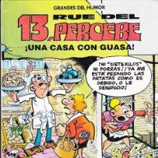 Cómics: GRANDES DEL HUMOR,13 RUE DEL PERCEBE,UNA CASA CON GUASA Nº8. Lote 36346240
