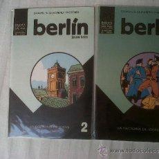 Cómics: BERLÍN #2-3 (LA FACTORÍA DE IDEAS, 2000). Lote 36368290